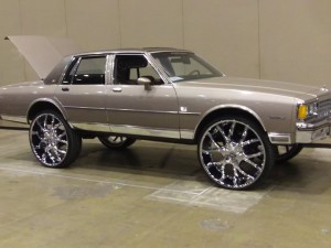You'll be ballin wit this candy paint and rims. Just hope you can cruise 4 blocks...